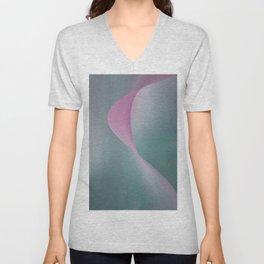 Pink Wave Unisex V-Neck