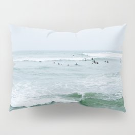 Tiny Surfers Lima, Peru 3 Pillow Sham