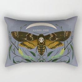 Acherontia Atropos - death's head hawkmoth Rectangular Pillow