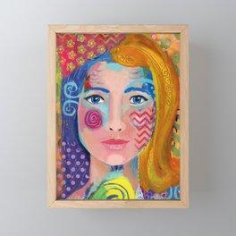 """""""Multi-faceted"""" Framed Mini Art Print"""
