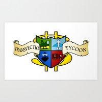 Transvectio Tycoon Art Print
