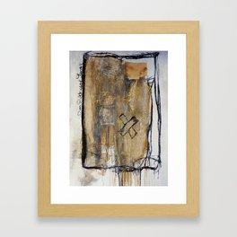 injured Framed Art Print