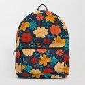 Colorful flower pattern by catyarte