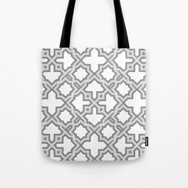 Geometric Pattern - Oriental Design Tote Bag