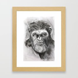 Caesar: War for the Planet of the Apes Framed Art Print