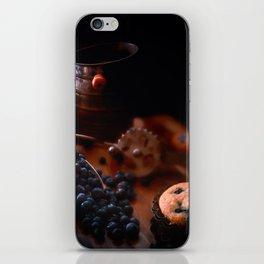 Grandma's Blueberry Muffins iPhone Skin