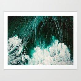 Ocean Love Art Print