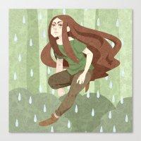 robin hood Canvas Prints featuring Robin Hood by Nano Rain