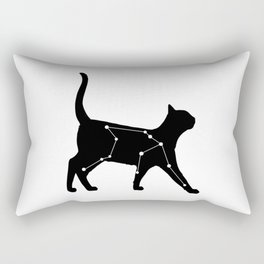 Aquarius Cat Rectangular Pillow