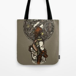 It's a (Steampunk) Trap! Tote Bag