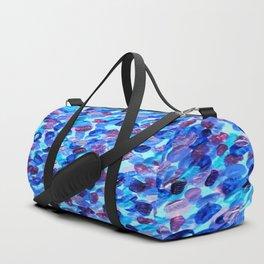 Blue Spots 001 Duffle Bag