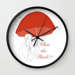 What The Fliuch? Wall Clock