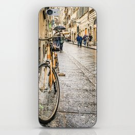 Street of Historic Center of Florence iPhone Skin