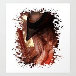Blood Hunter Art Print