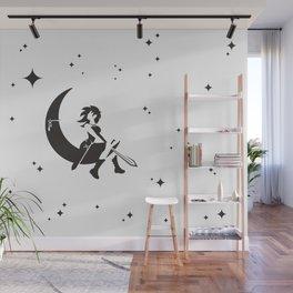 The Girl Who Kills The Moon Wall Mural