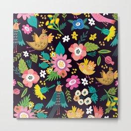 The floral floresta Metal Print