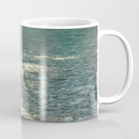 clear Mugs featuring Clear by Françoise Reina