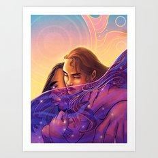 The Sun In My Sea Of Stars Art Print