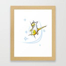 Shiny Latias Framed Art Print