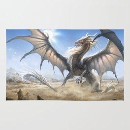 White Dragon Rug
