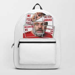 The Real of S.Zizek Backpack