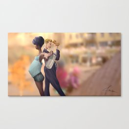 Parents In Action Canvas Print