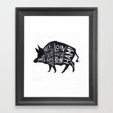 Sir Loin  Framed Art Print