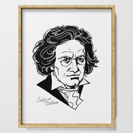 Ludwig van Beethoven Serving Tray