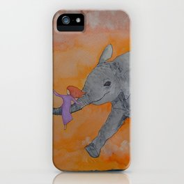 Little Giggles iPhone Case