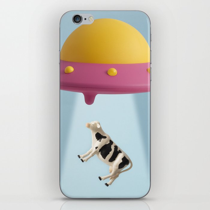 Abducted Cow iPhone Skin