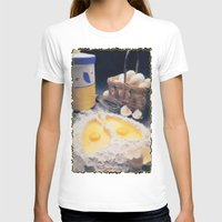 eggs T-shirts featuring Eggs by Richard McGee