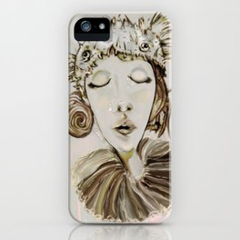 Ophelia´s premonitory dream iPhone Case