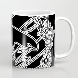Vaquita Porpoise, Mother And Calf Coffee Mug