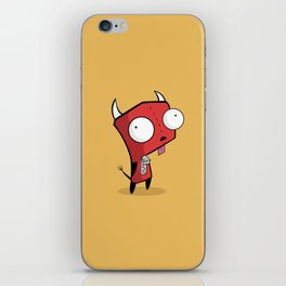 Devil Gir iPhone Skin