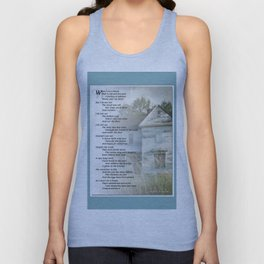 Old Homes (Poem) Unisex Tank Top