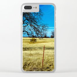 Along The Way In Clyde, Texas Clear iPhone Case