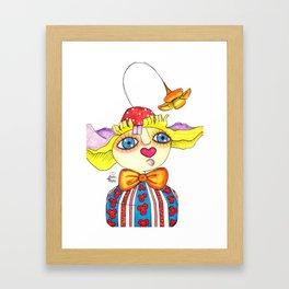 Payaso Framed Art Print