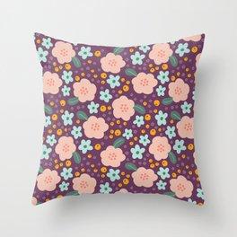 Ditzy Daisy Throw Pillow