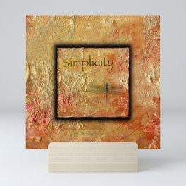 Simplicity by Kathy Morton Stanion Mini Art Print