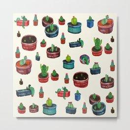 pocket cactus Metal Print