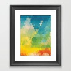 Meduzzle: Colorful Days Framed Art Print