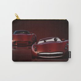 Red Cars Carry-All Pouch