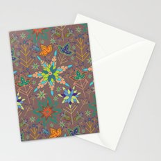 Festive Snowflake Party Stationery Cards