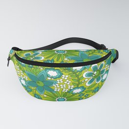 Peace, Love and Flowers Fanny Pack