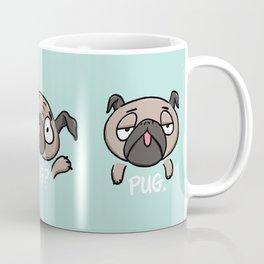 Pug Mug Fawn Pugs Cute Funny silly pugs Coffee Mug