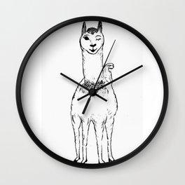 Gabrillama Wall Clock