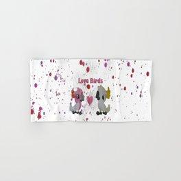 Love Birds - Cockatoos in Love Hand & Bath Towel