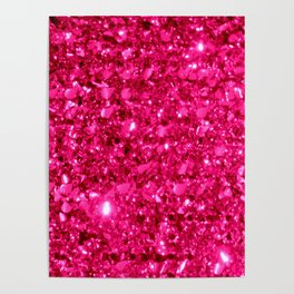 SparklE Hot Pink Poster