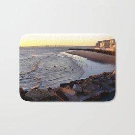 By the shore (New Jersey) Bath Mat