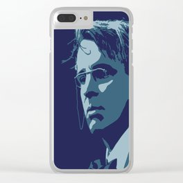 W. B. Yeats Clear iPhone Case